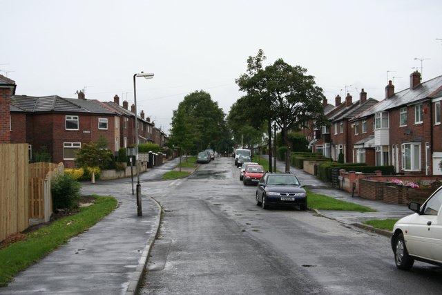 kawasan perumahan di Sheffield